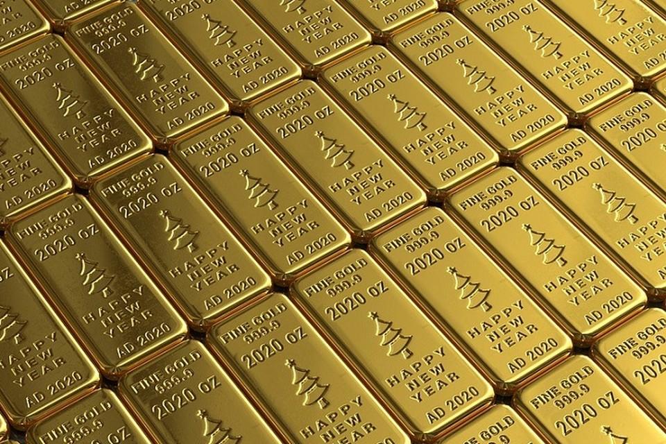 Нацбанк рассказал, сколько золота есть в запасе у Беларуси. Фото: pixabay.com.