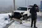 Месиво из 13 транспортных средств. Автобусы и авто развернуло в массовых ДТП во Владивостоке