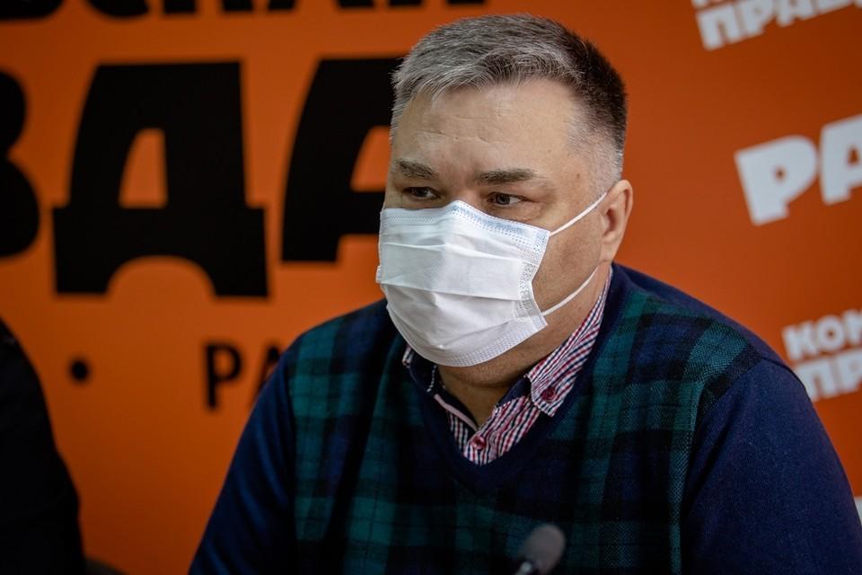 Александр Выгоняйлов отметил, что рост заболеваемости будет зависеть от поведения людей.