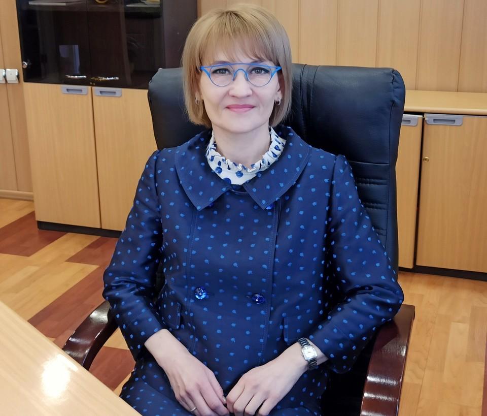 Александра Коротовская обладает большим опытом бизнес-планирования и руководства крупным предприятием. Фото УФПС Амурской области