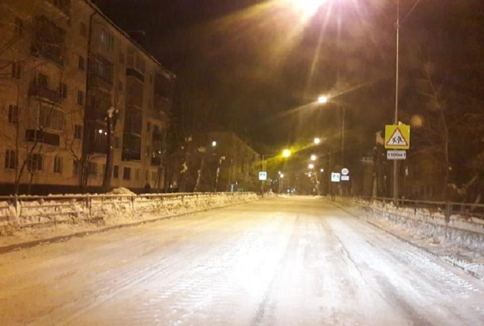 Место, где произошла авария. Авария произошла на улице Тимирязева. Фото: МУ МВД России «Нижнетагильское»