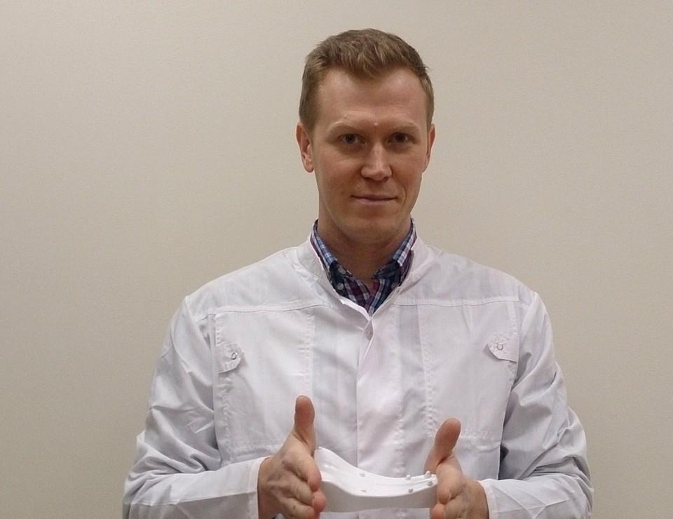 Юрий Корюкалов специализируется на разработке гаджетов для медицины. Фото: vk.com/yurykoryukalov