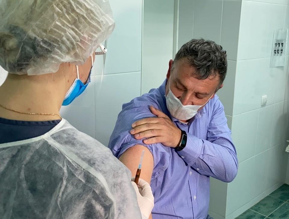 Иммунизация будет производится российской вакциной «Спутник V»