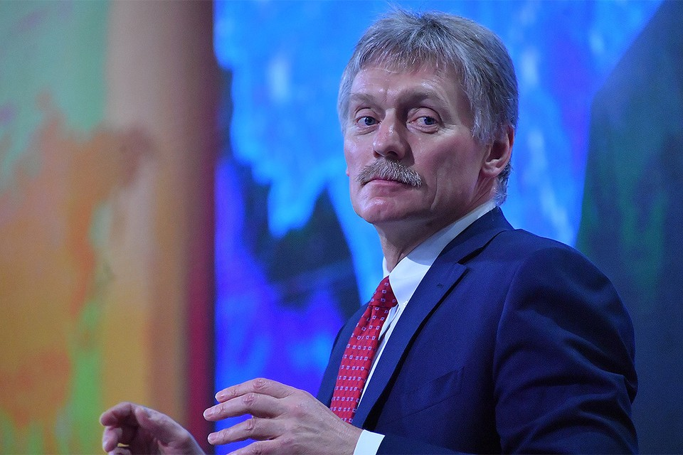 Пресс-секретарь президента Путина Дмитрий Песков.