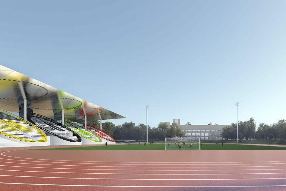 Для профессионалов и любителей откроют ещё одну спортивную площадку. Фото: stroi.mos.ru