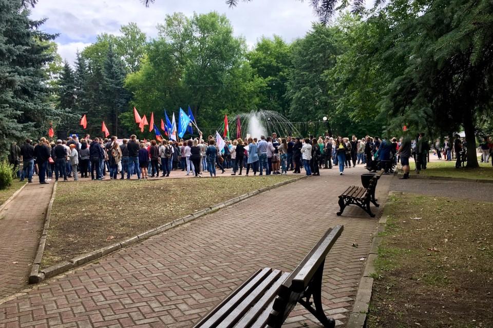 УМВД по Тверской области предупредило об ответственности за несанкционированные митинг.