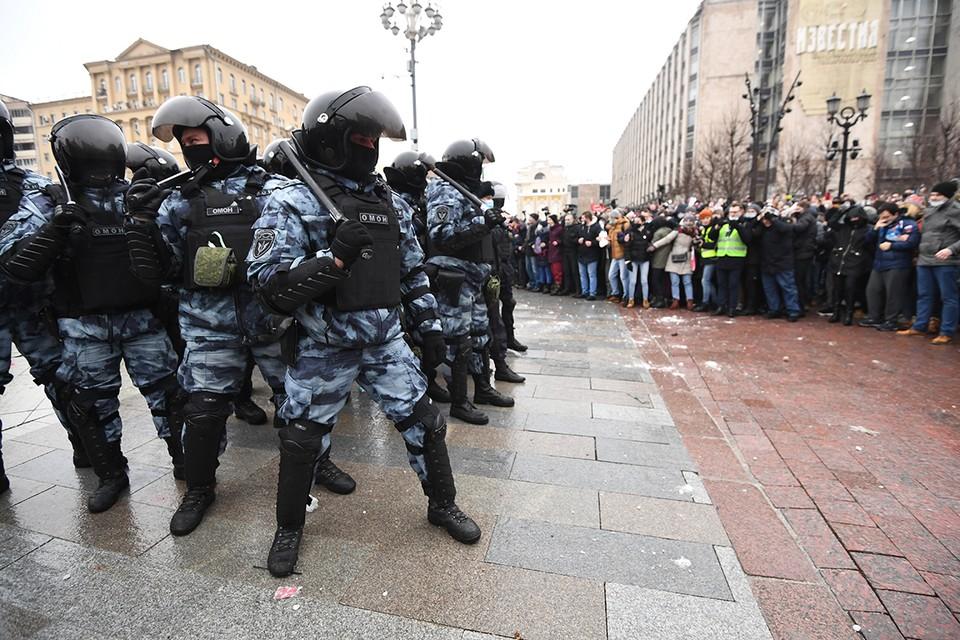 Как изнутри выглядит несанкционированный митинг в Москве