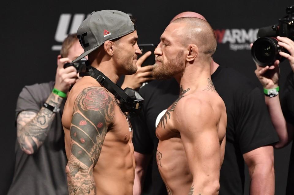 Дастин Порье и Конор Макгрегор сойдутся в главном бою UFC 257.