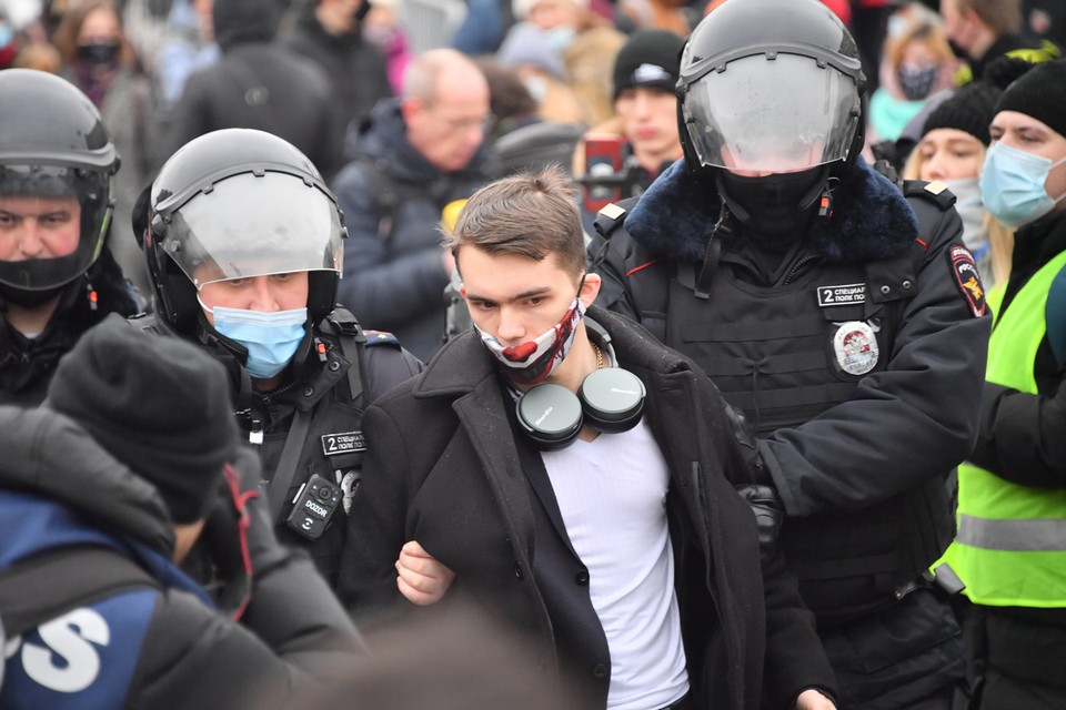 Несанкционированные акции протеста в российских городах обернулись международным скандалом.
