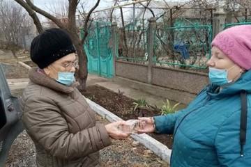 Акция «Блокадный хлеб» в Симферопольском районе закончилась скандалом