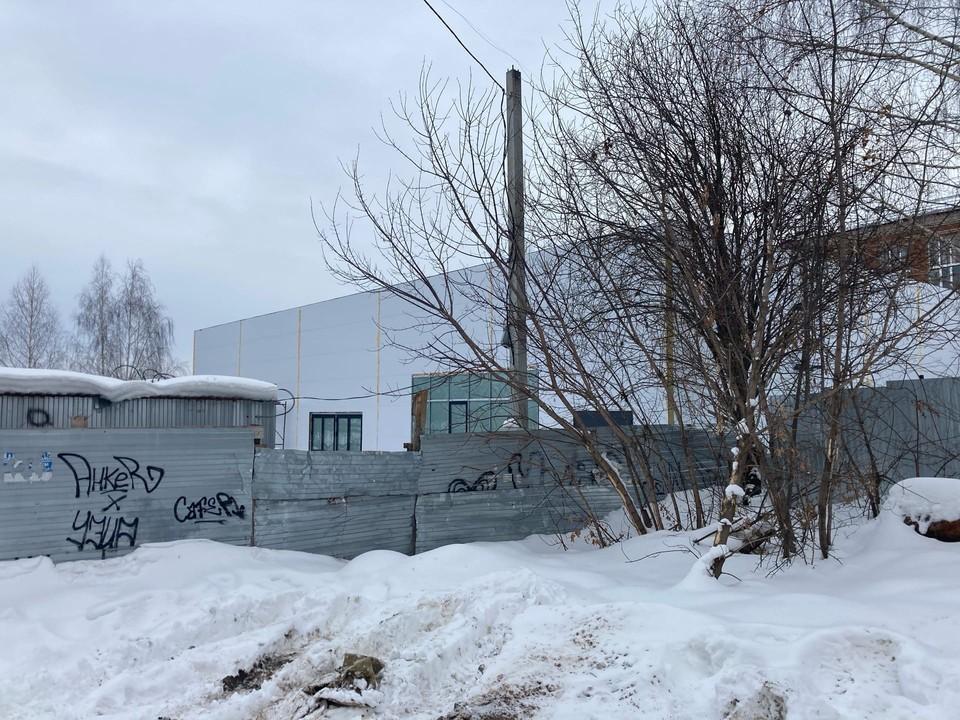 Детское кафе строят в Ленинском района Ижевска