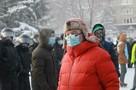 Акции протеста к востоку от Урала оказались очень малочисленными