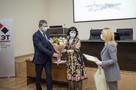 Тружеников радиозавода «Сигнал» наградили депутат Госдумы и министр промышленности Ставрополья