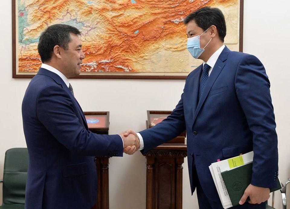 Садыр Жапаров рассказал, каких результатов работы ждет от правительства.