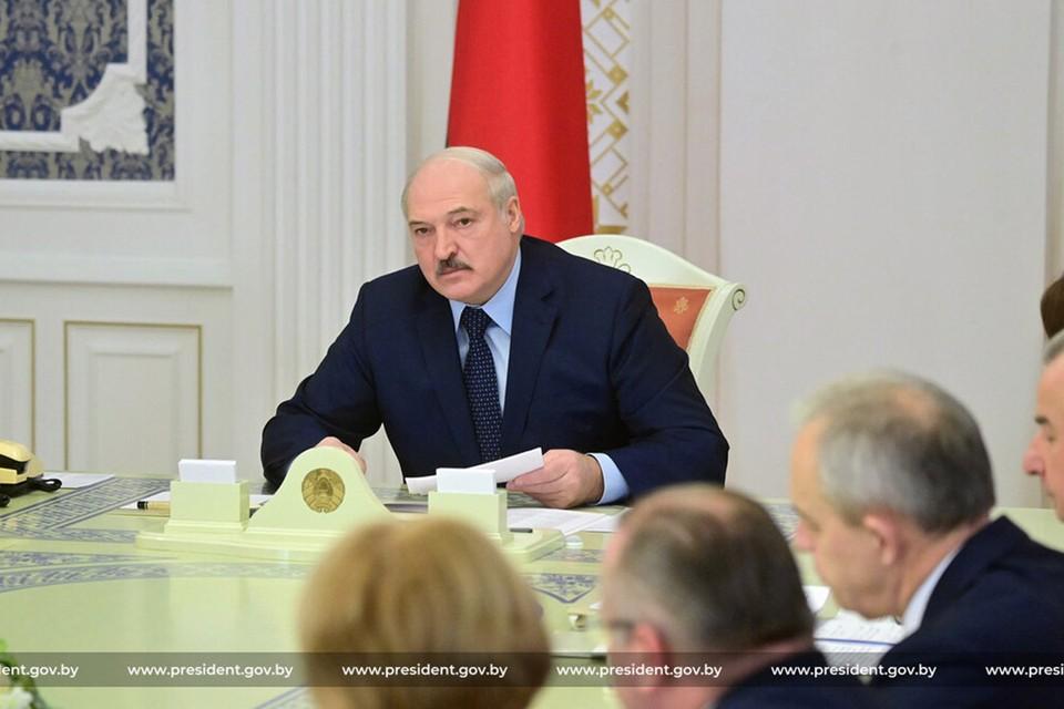 У Лукашенко появился обновленный сайт. Фото: president.gov.by
