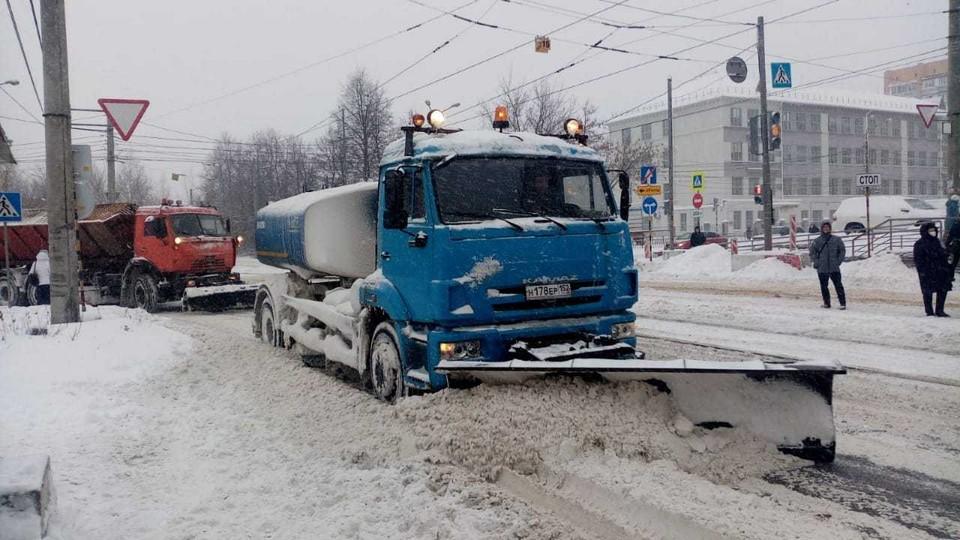 Депутаты раскритиковали качество уборки снега в Нижнем Новгороде.
