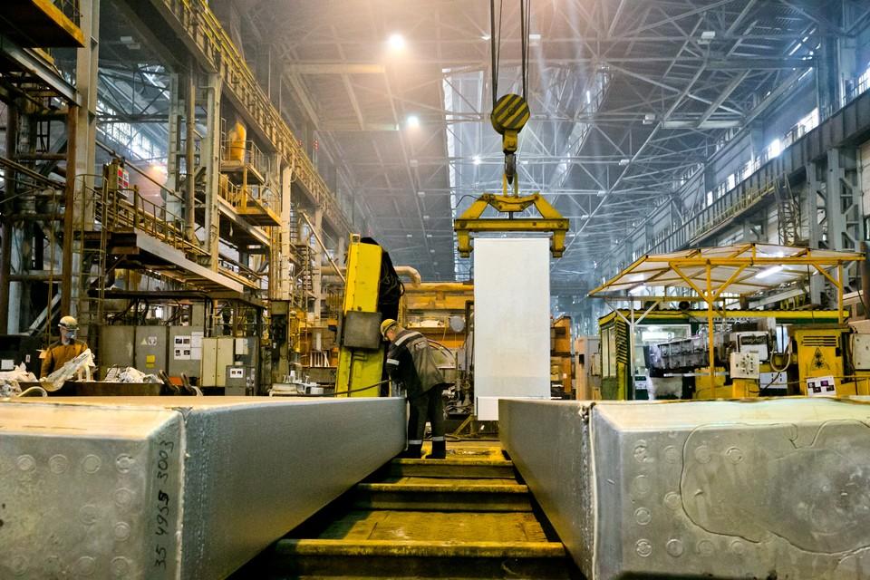 На производстве КрАЗа используют экотехнологии. Фото: пресс-служба АО «РУСАЛ Красноярск»