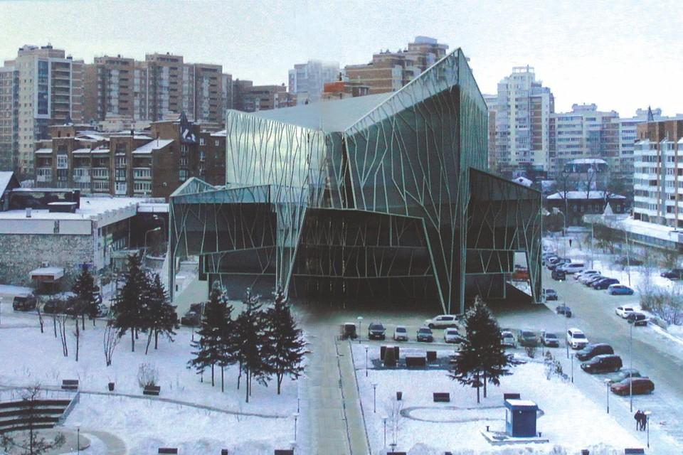 Архитекторы предложили площадку под строительство Концертного зала симфонической музыки в Иркутске. Фото: предоставлено Евгением Третьяковым