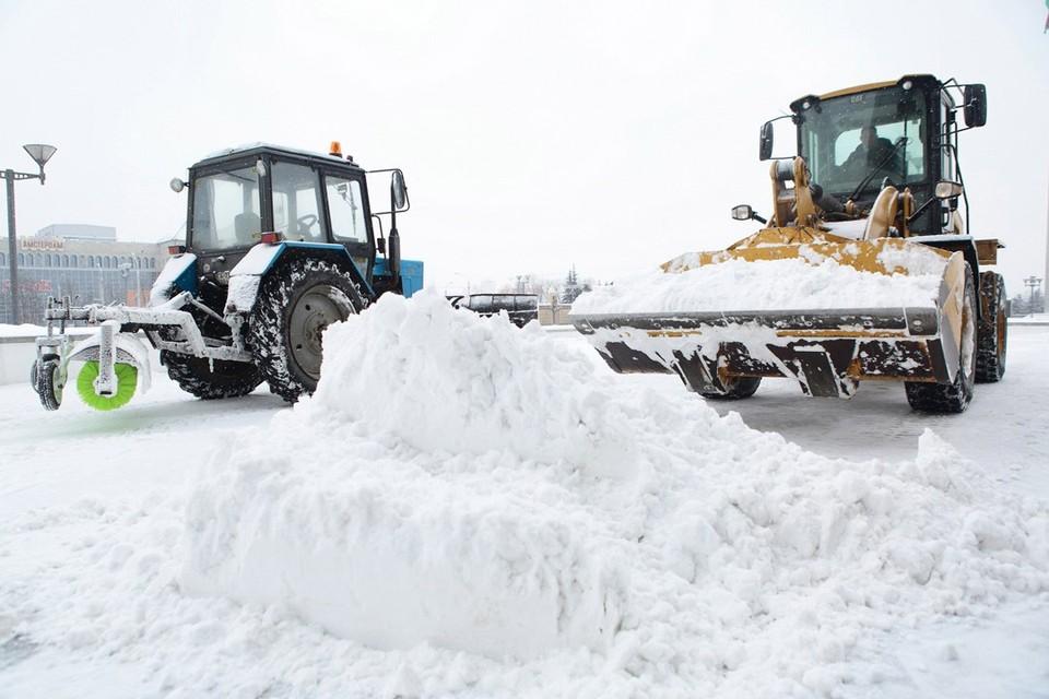 Циклон Volker накроет Беларусь в выходные 13 и 14 февраля