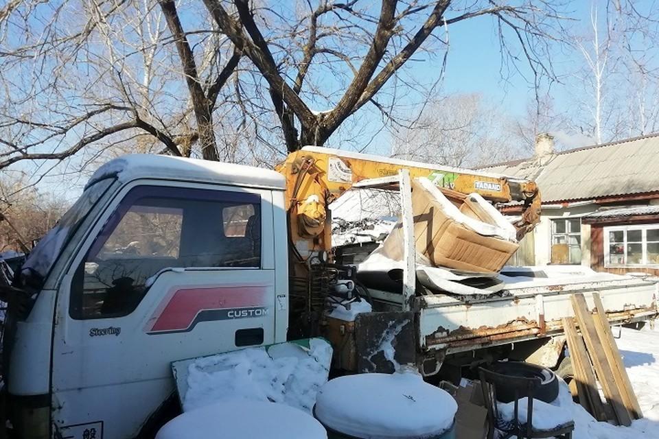 За неуплату налога у хабаровчанина забрали грузовик