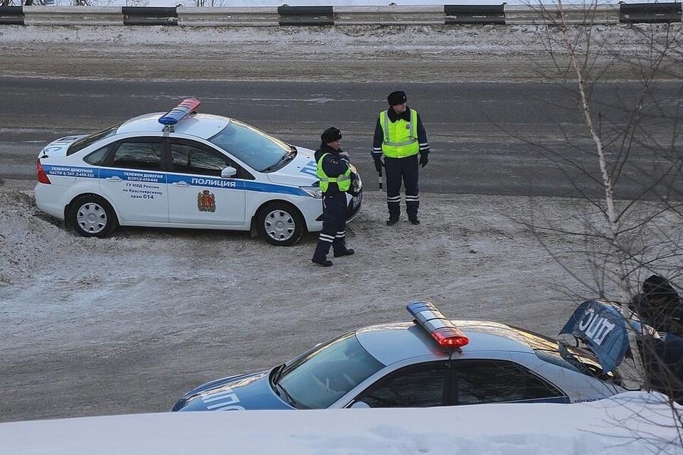 Нарушителей на трассах в Красноярском крае ловят «скрытые патрули»
