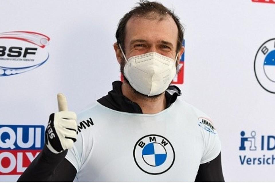 Красноярец в Германии взял «серебро» чемпионата мира по скелетону ФОТО: rusbob.ru