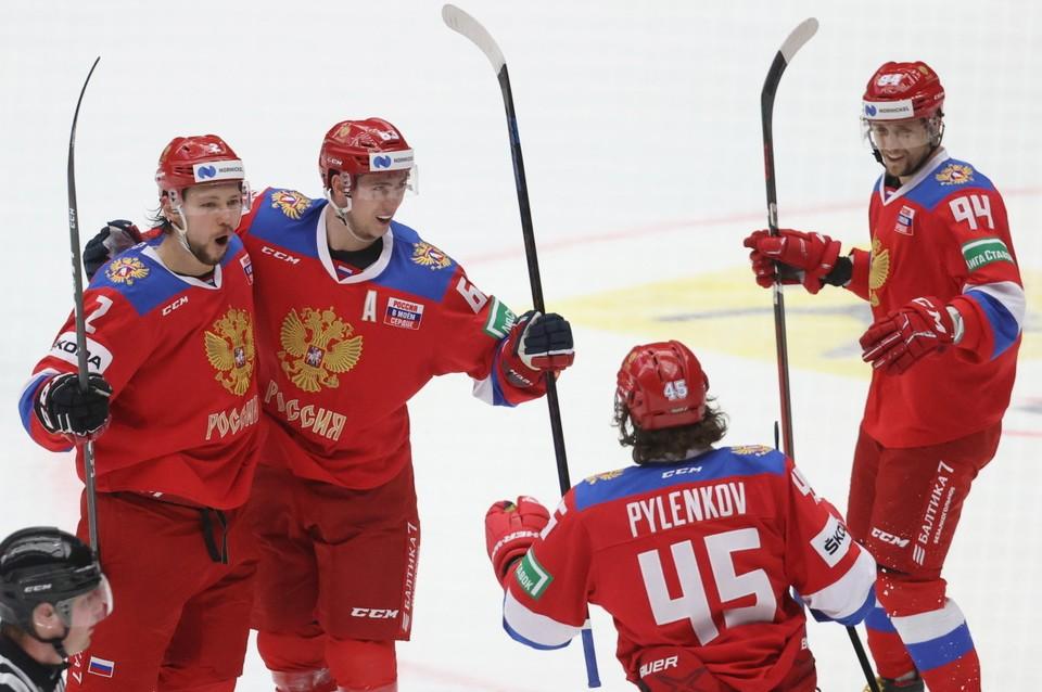 Россияне победили Чехию в решающей игре Евротура.
