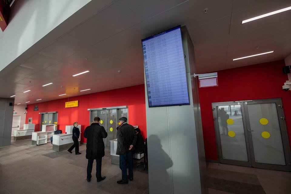 Рейс из Москвы в Челябинск был задержан на час