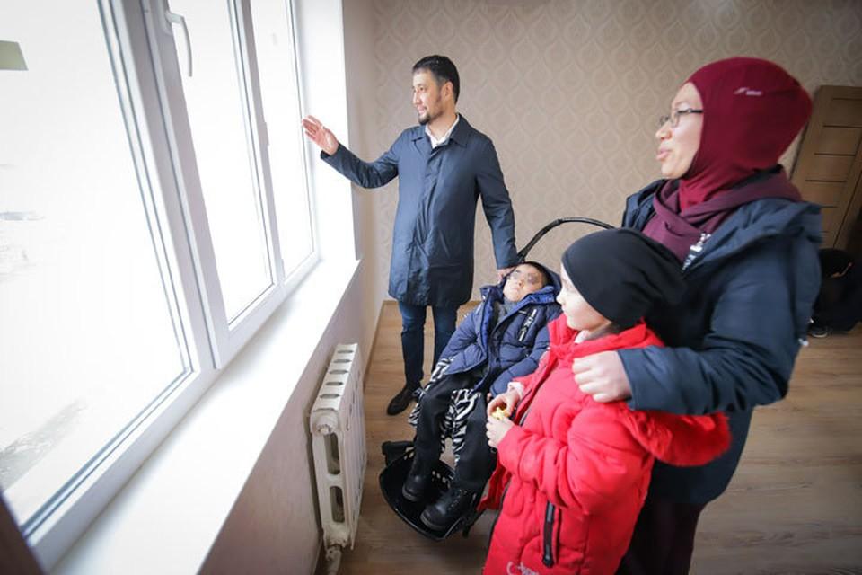 Мечта о жилье со всеми удобствами сбылась - на днях Диана с детьми переедет в новую квартиру.