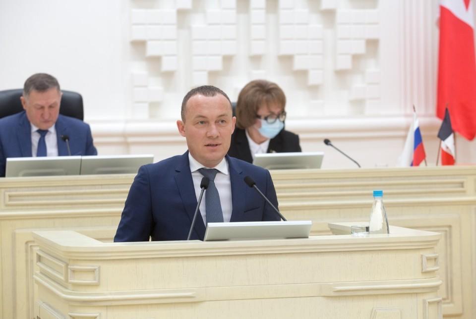 Депутат был единогласно избран в ходе тайного голосования Фото: пресс-служба государственного совета Удмуртии