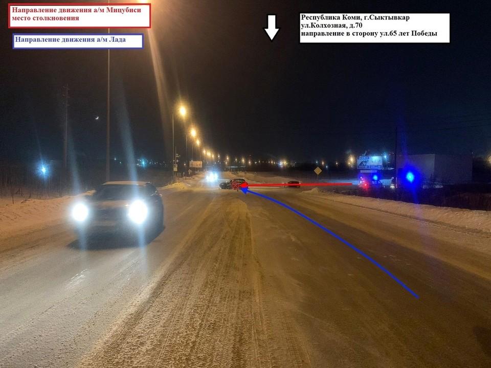 Фото предоставлено УГИБДД МВД по Республике Коми