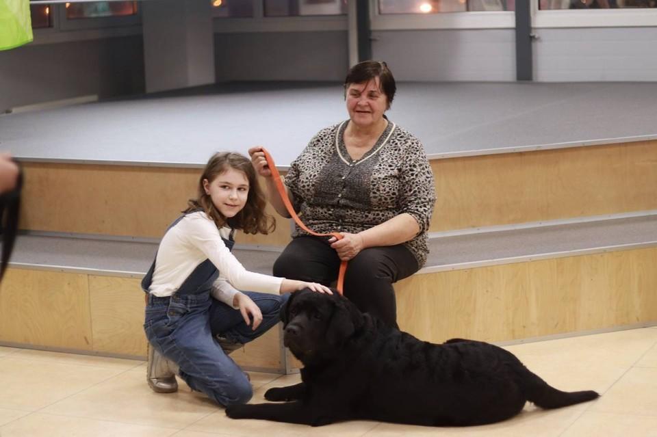 Как собаки в Петербурге лечат малышей и помогают трудным подросткам