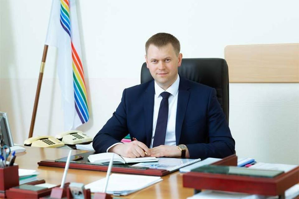 Александр Головатый. Фото: мэрия Биробиджана