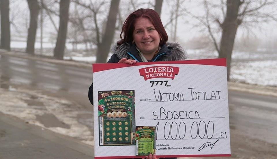 Воспитатель детсада из Хынчешт стала новым миллионером Национальной лотереи.