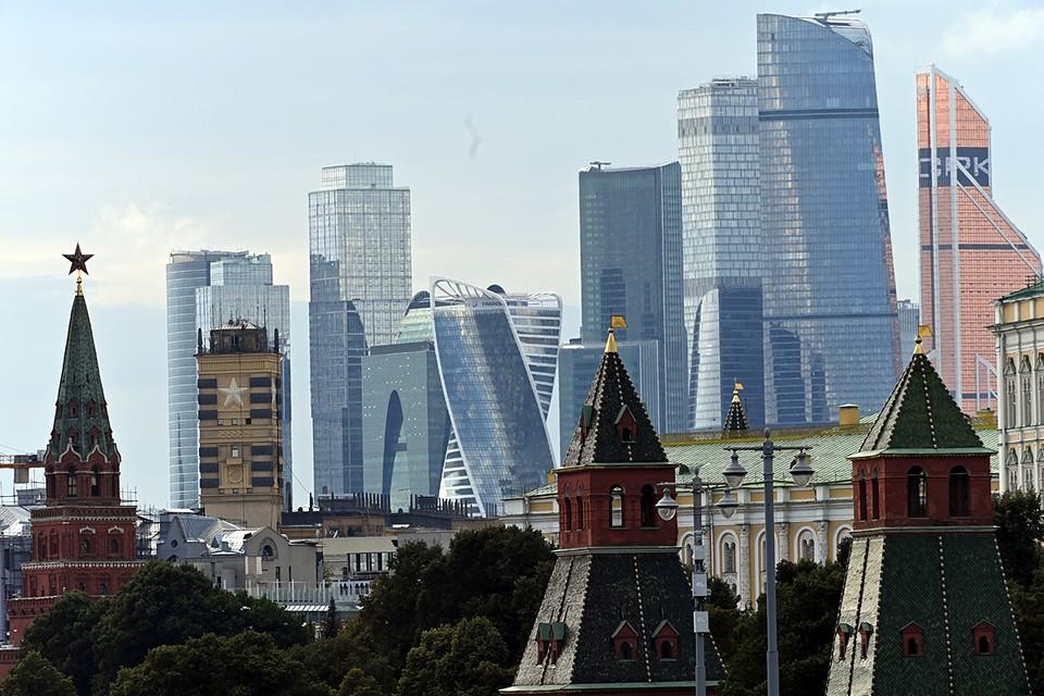 Москва в рейтинге социально-экономической устойчивости регионов на шестом месте