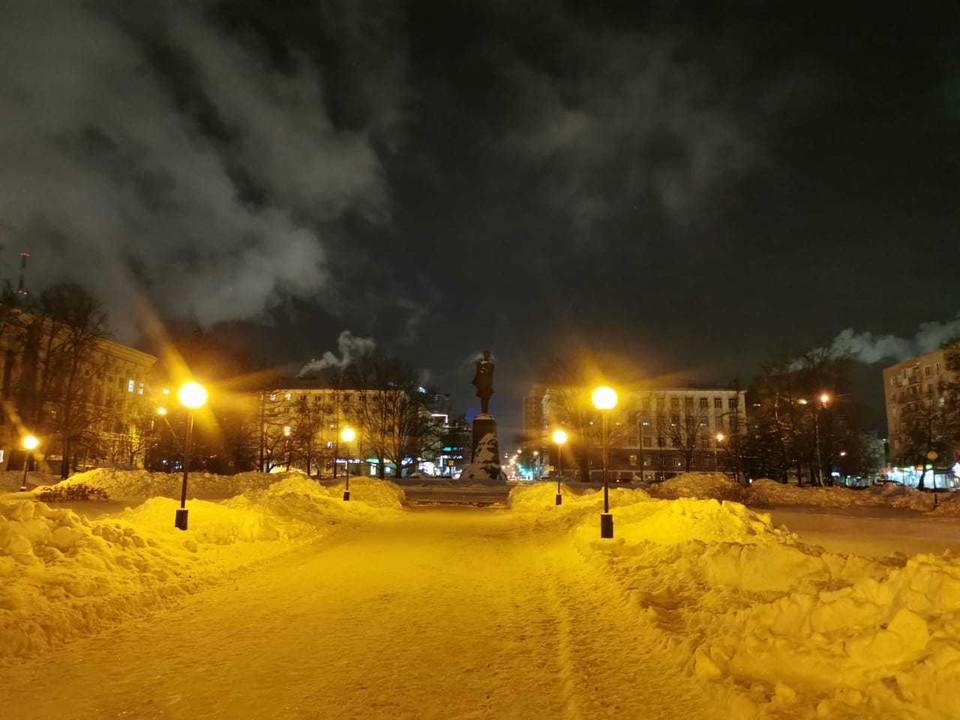 Сквер на площади Горького начнут ремонтировать уже весной. Фото: Администрация Нижнего Новгорода