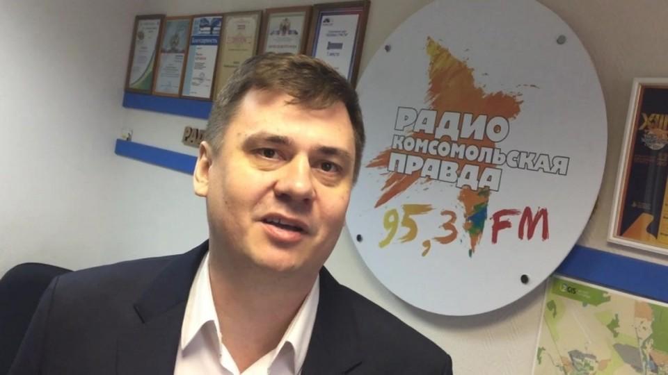 Олег Извеков был в гостях у комсомолки, когда он еще был директором челябинского филиала «IZET Телеком Урал»