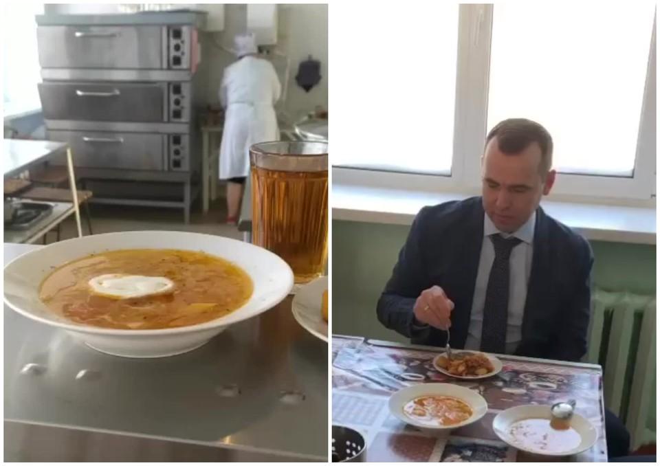 Во время рабочей поездки Шумков заехал в школу №36 Кургана