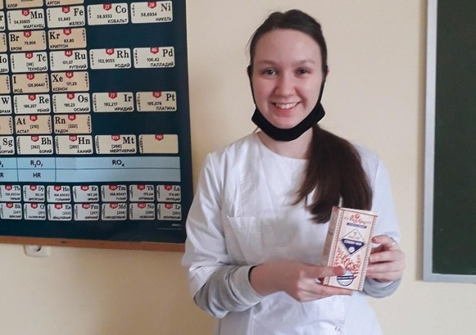 Студентка ВГМХА Анастасия Кокшарова. Фото: пресс-центр ВГМХА имени Н.В. Верещагина