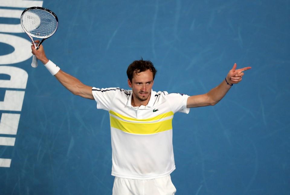 Первая ракетка России Даниил Медведев вышел в финал Australian Open 2021