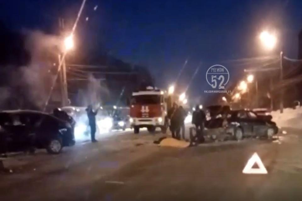 Прокуратура начала проверку по факту смертельного ДТП на проспекте Гагарина. Фото: Регион52