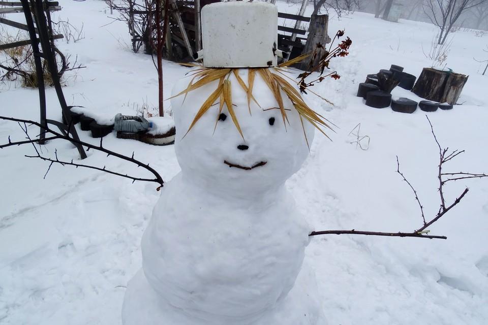 Зима не собирается уходить из Липецка