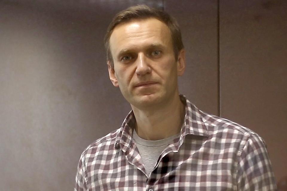 Алексей Навальный в помещении суда 20 февраля 2020 г. Фото: пресс-служба Мосгорсуда