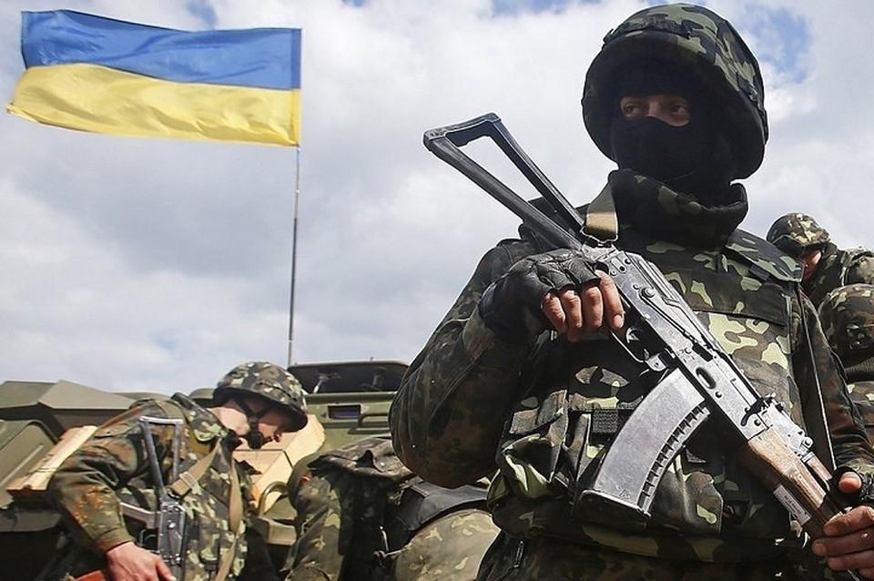 Киевские силовики не заметили потерю и продолжили движение. Фото: штаб ООС