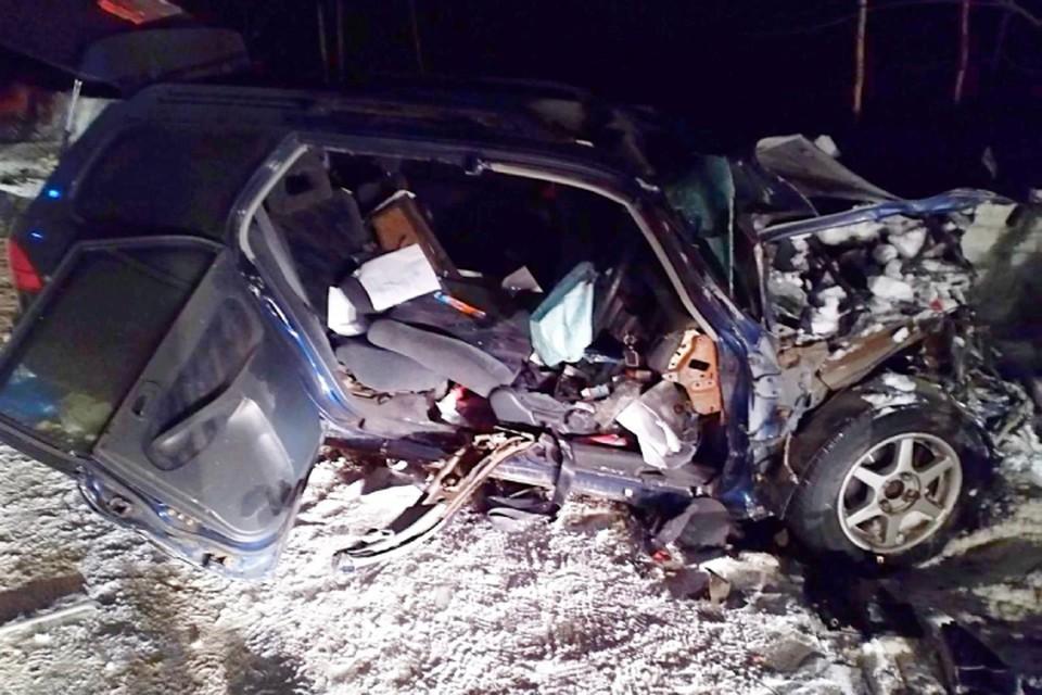 В жуткой аварии на трассе Канск - Абан - Богучаны пострадали девять человек, погиб один