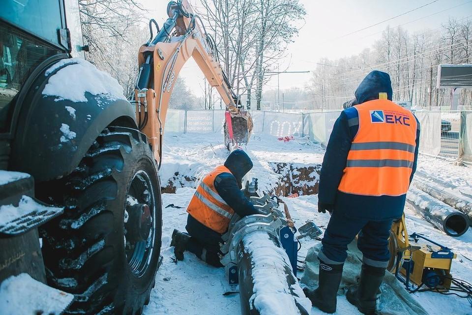 Подрядчик готовится к масштабной реконструкции сетей водоснабжения. Фото: Instagram аккаунт парка «Швейцарии»