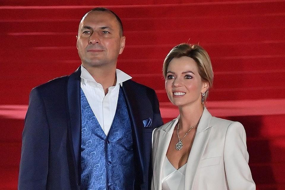 Игорь Вдовин с супругой.