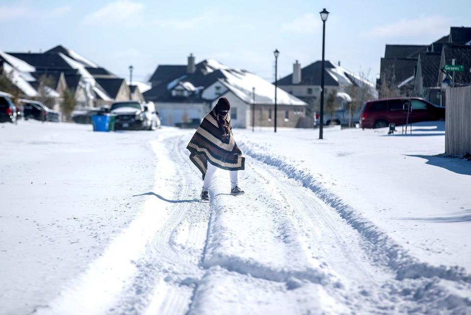 Рекордные холода в США возбудили, в том числе, и сторонников всякого рода теорий заговора.