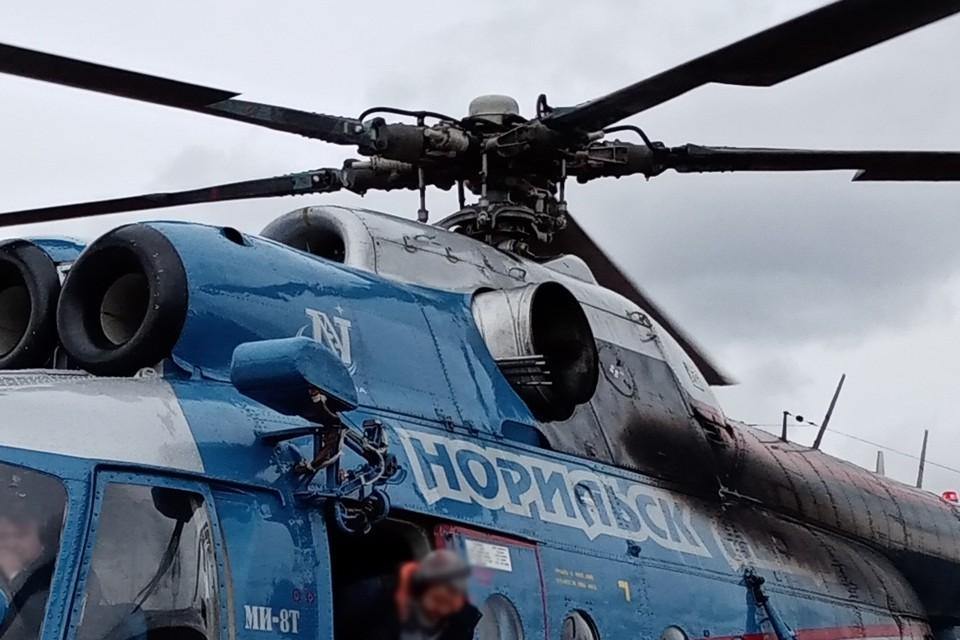 Вертолет авикомпании «Норильск Авиа» совершил экстренную посадку на Таймыре