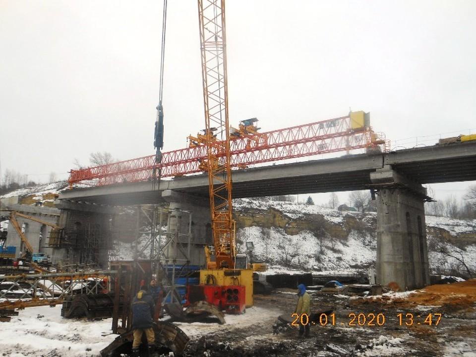 Ремонт моста через Зушу в Мценске начался еще в 2016 году. Фото: Администрация города Мценск